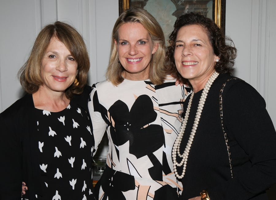 Janice Parker, Meg Touborg, and Linda London