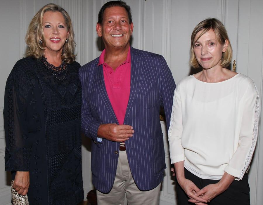 Suzanne Tucker, Carlos Picon, and Stefanie Rinza