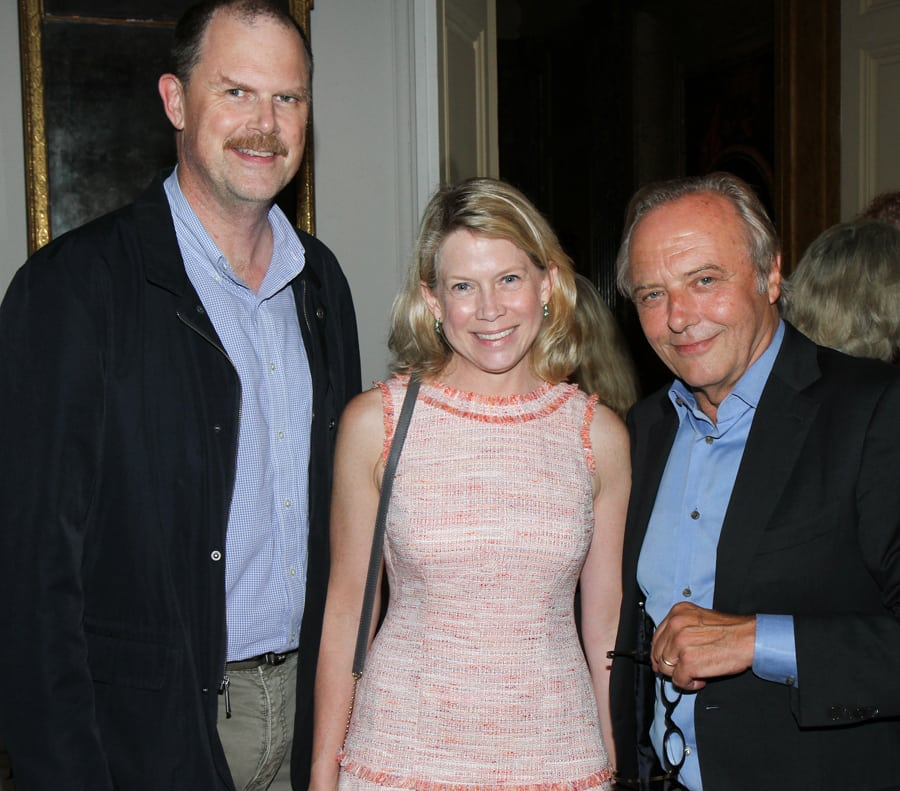 Lithgow Osborne, Ariane Trimuschat, and Michael Pashby