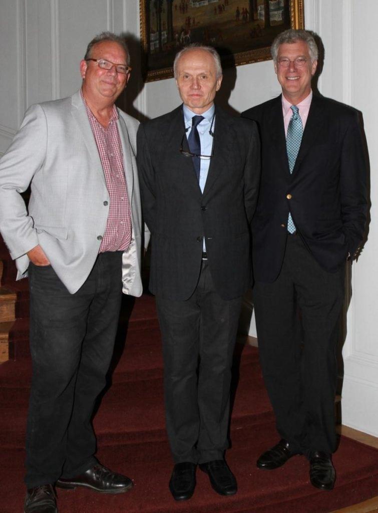 John Ike, Carlton Hobbs, and Tom Kligerman