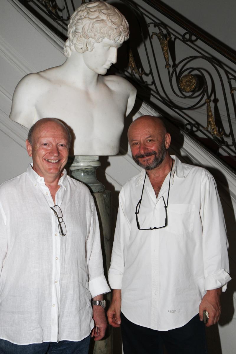 Vladimir Turkeltaub and Valdimir Kanevsky