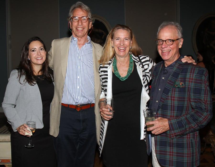 Emily Clinton, Clinton Howell, Anne Harris, and Ralph Harvard