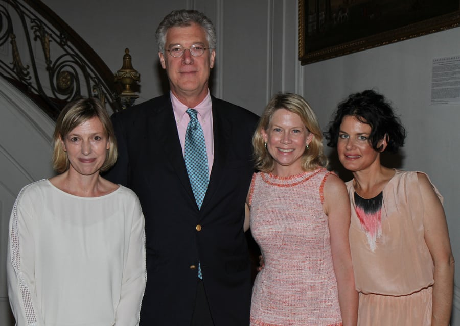 Stefanie Rinza, Tom Kligerman, Ariane Trimuschat, and Katherine Jacobus