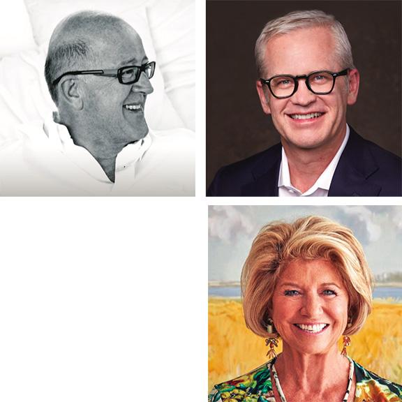 Veere Grenney, Rush Jenkins, Wendy Moonan