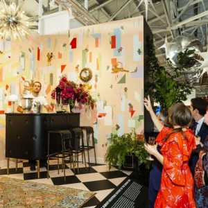 Designer Vignette at The San Francisco Fall Art and Antiques Show 2018