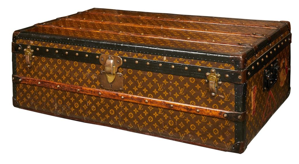 1920s Louis Vuitton cabin trunk