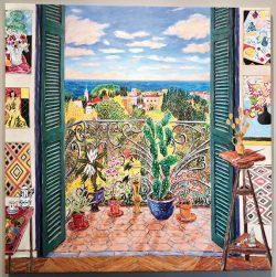 Damian Elwes painting from Modernism Gallery